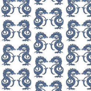 Dragons at Dawn - Dark Blue