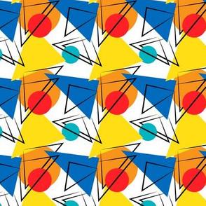 Retro Contemporary Geometric Pattern