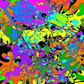 Paint Splash Cartoon