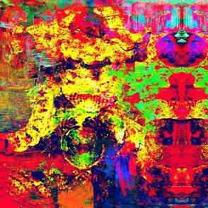 Old Lace Montage - Splatter