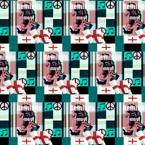 """british Cheater Quilt"""" Reminds me of 69'-ed-ed"""