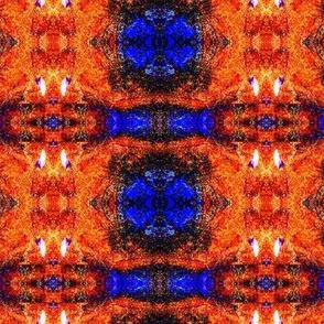 Blue Beast Running Fire Pattern