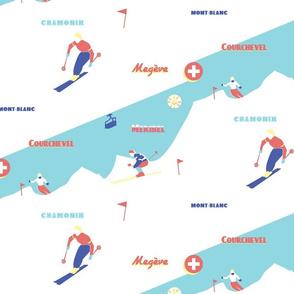 winter sports in france