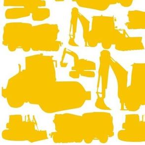 Boys toys yellow white