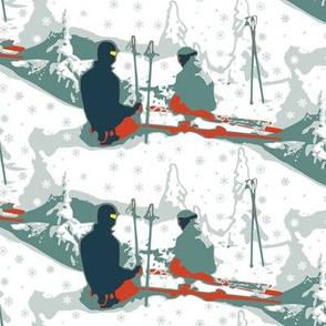 skiing break
