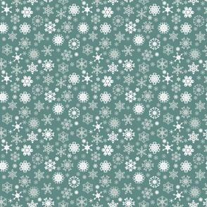light snowflakes