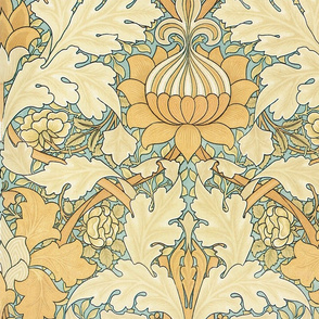 William Morris ~ St. James or Growing Damask ~ Large