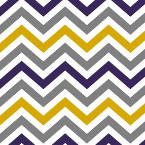 Purple and Gold Chevrons (vibrant)