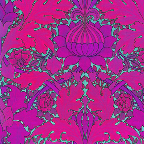 William Morris ~ St. James or Growing Damask ~ Wilde