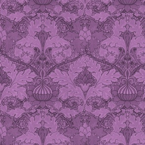 William Morris ~ St. James or Growing Damask ~ Hothouse Flower