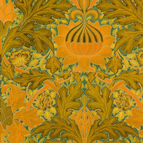 William Morris ~ St. James or Growing Damask ~ Florida Room