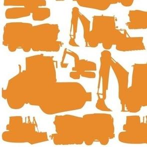 Boys toys orange white