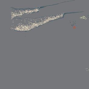 Grey Wave Surf