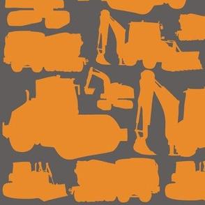 Boys toys orange grey