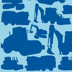 Boys toys blue