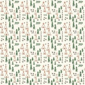 Teepees & Trees