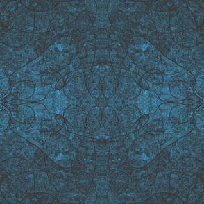 078_African_Cloth_On_Aqua_Panel