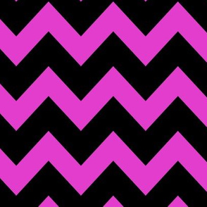 Fuschia Chevron