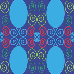 132_Blue_Mirror_Panel