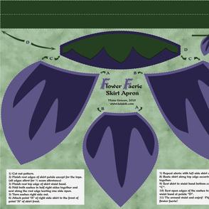 Flower Faerie Skirt Apron