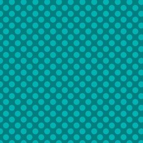 Dark Blue/Green Spot