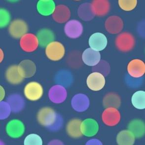 bokeh lights - Christmas Morning