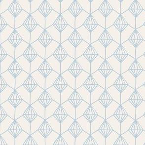 Blender Diamond Ivory & Blue Grey