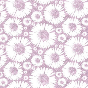 Retro Summer Daisy - Plum