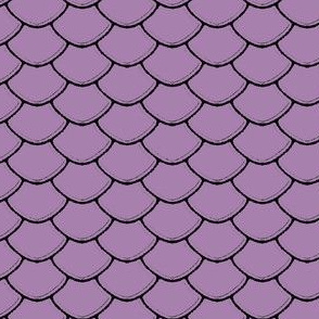 Scales Purple Mauve