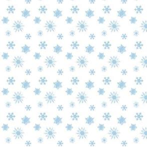 Snowflakes Baby Blue