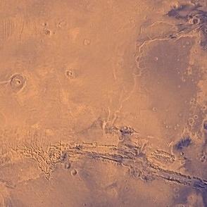 Map of Mars
