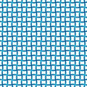 Windmill Weave - Blue