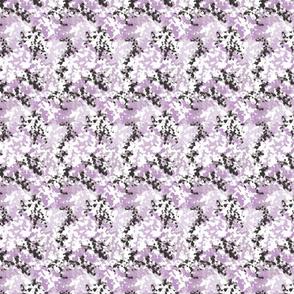Crosshatch Floral Lilac