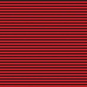 black and orange red pinstripe