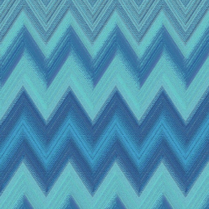 chalk chevron blue