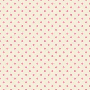 Pink Dots on Blush