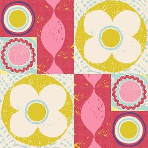 flower power quilt
