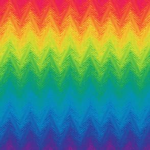 rainbow arrow stripe