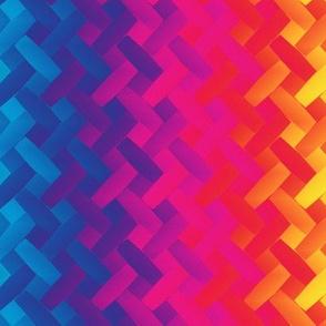 woven rainbow