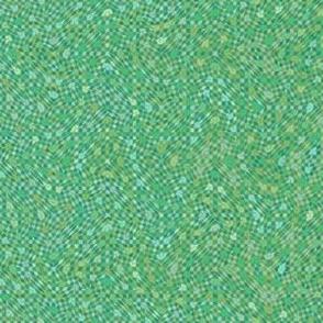serene green mosaic