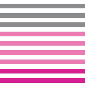 Stripes gradient - Pink