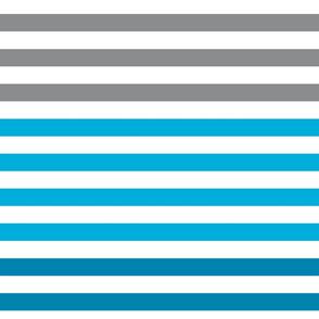 Stripes gradient - Blue