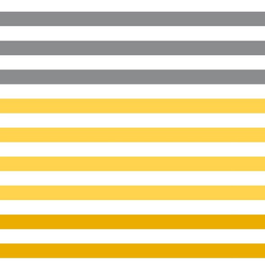 Stripes gradient - Yellow