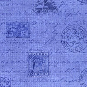 Stamps Blue