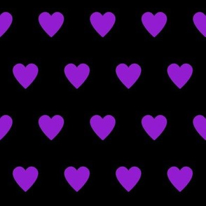 Purple Heart (Black)