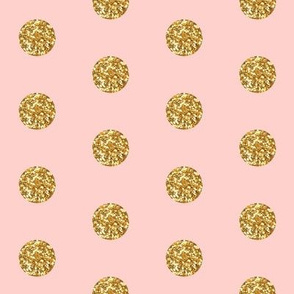 Glitter Dots Beaucoup! on Pink