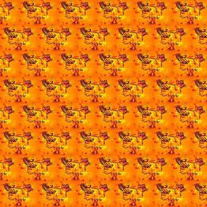 chicken splotch orange