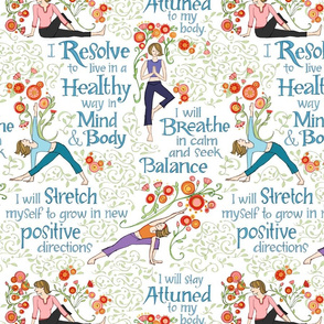 Resolutions for Health with Yoga