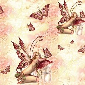 Butterfly Fairy Painting - Selina Fenech Fantasy Art