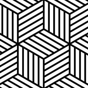 02714643 : stripy cubes